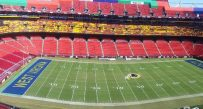 FedEx Field, site of Saturday's game between West Virginia and BYU.