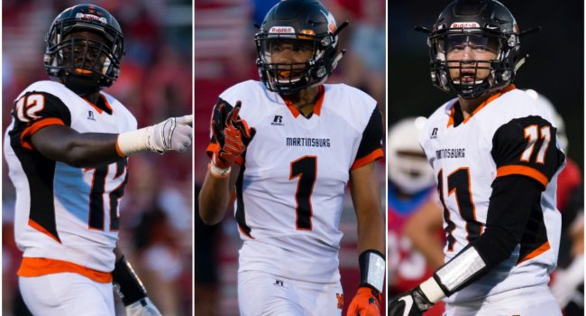 Martinsburg rolled to a 33-6 dominant win over Morgantown Friday night ...