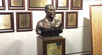 The bust honors Maj. Gen. Charles C. Rogers, a 1951 WVSU graduate and 1968 Medal of Honor recipient.
