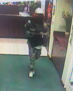 Charleston police say this man robbed a bank in Kanawha City Wednesday morning.