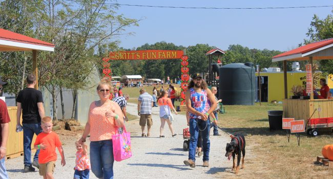 Thousands of people visit destinations like Gritt's Farm in Buffalo each weekend.
