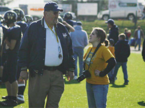 Coach G as he was known to the community was a fixture for Greenbrier West athletic events.