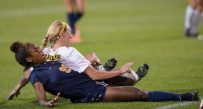 Sh'Nia Gordon's goal gave West Virginia 2-0 lead over Baylor on Friday night.