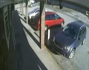 Charleston police say the getaway car is believed to be at this top of this photo.