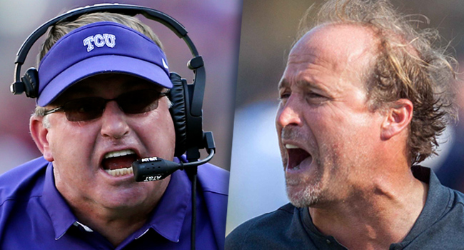 TCU's Gary Patterson and West Virginia's Dana Holgorsen built their careers on opposing sides of the ball, but their programs have played thrilling games since arriving on the Big 12 scene together.