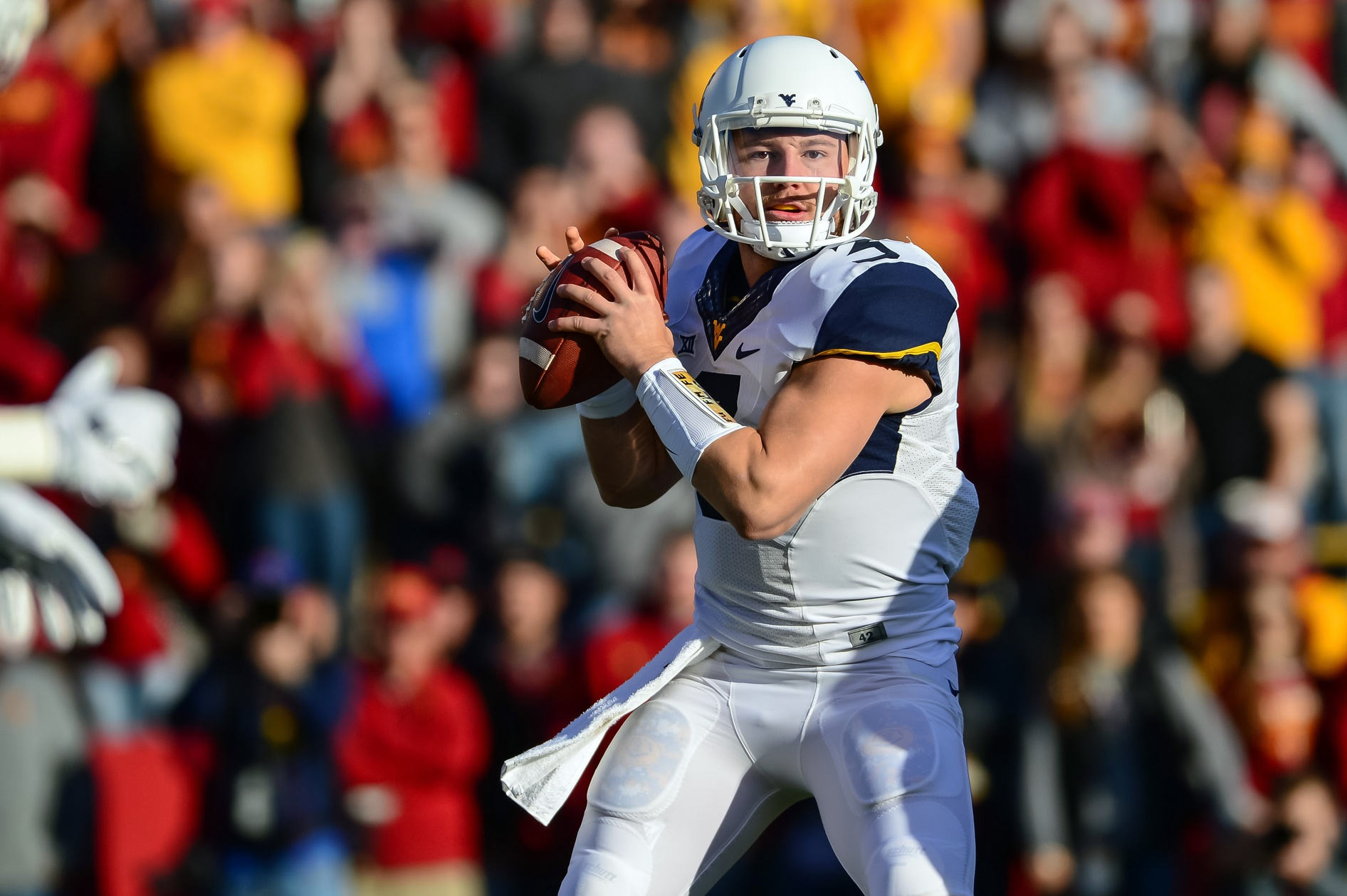 WV MetroNews – Live blog: Mountaineers facing a battle in Ames
