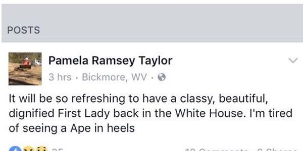 Mayor resigns after racist Michelle Obama post