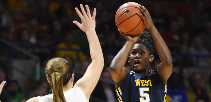 WV MetroNews West Virginia women 7-0 after routing High ...