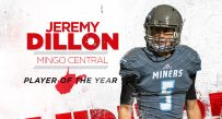 Mingo Central quarterback Jeremy Dillon is named the 2016 MetroNews High School Football Player of the Year.