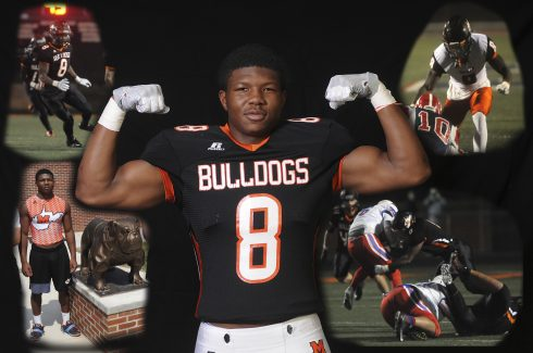 Martinsburg defensive lineman Tavis Lee helped lead the Bulldogs to their fifth state championship in the last seven years.