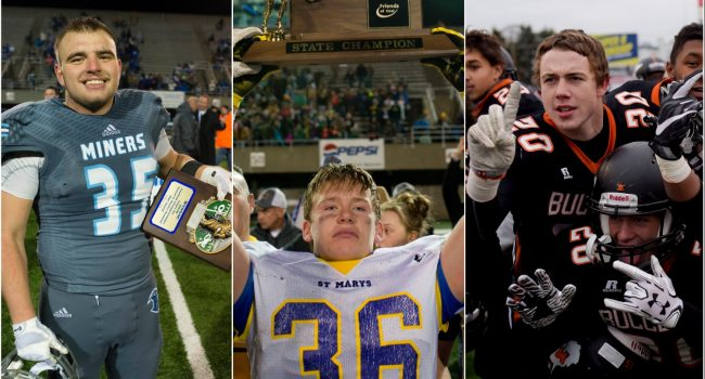 A look back at the pregame and eventual postgame celebrations from the 2016 high school football Super 6 championships.