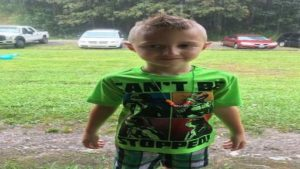 Isaiah Jacob Franklin, 6, was attacked by a pit bull Friday in Huntington.