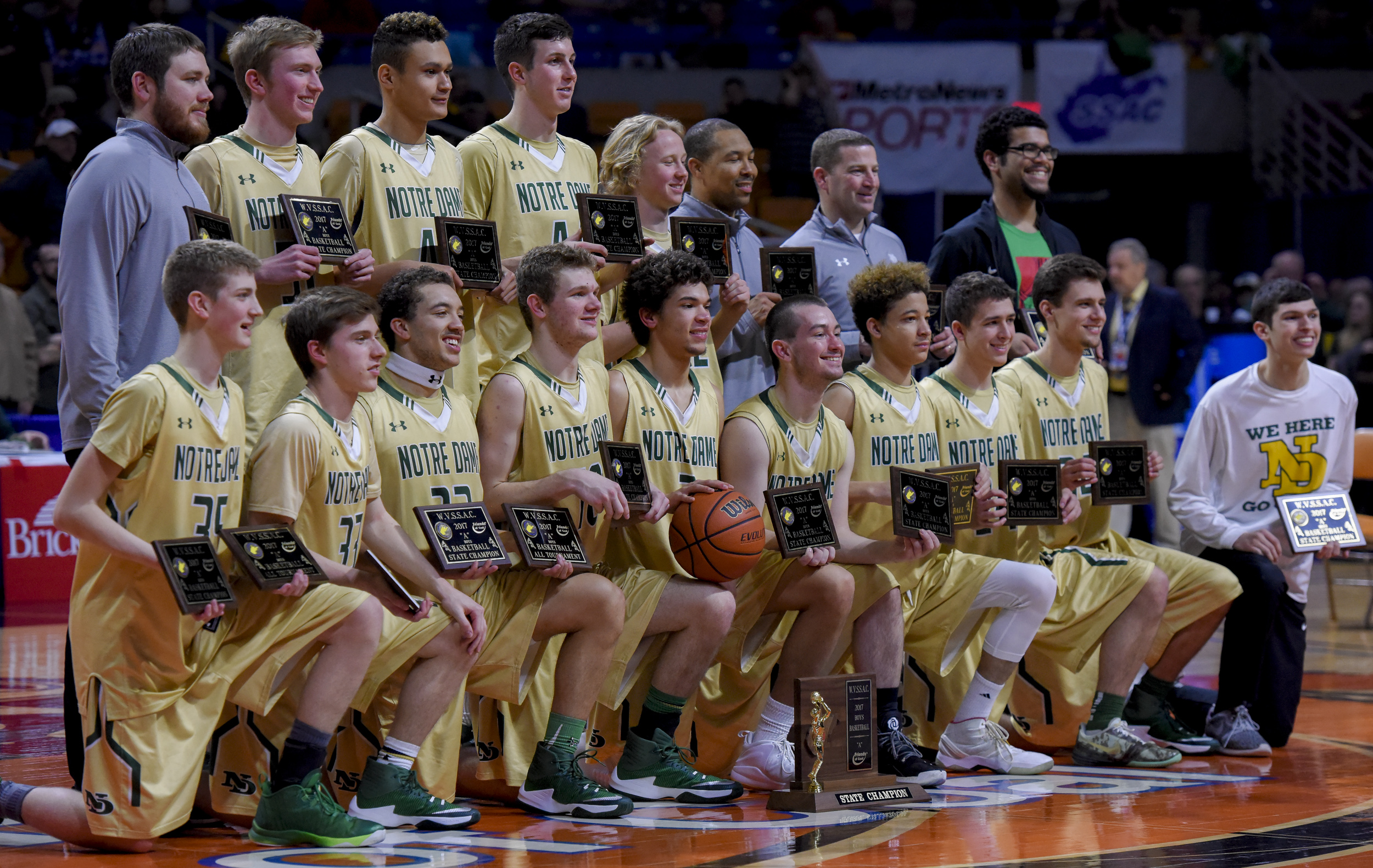 a60430f77803a4 WV MetroNews Notre Dame blitzes Ravenswood for first boys basketball ...