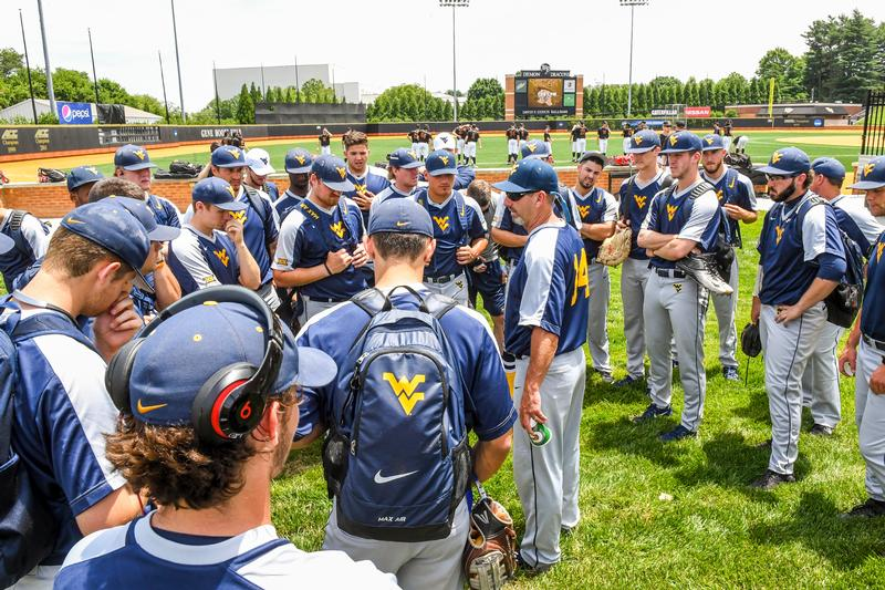 West Virginia beats Maryland 8-5 in NCAA elimination game