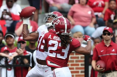 Alabama WR TJ Simmons transferring to West Virginia