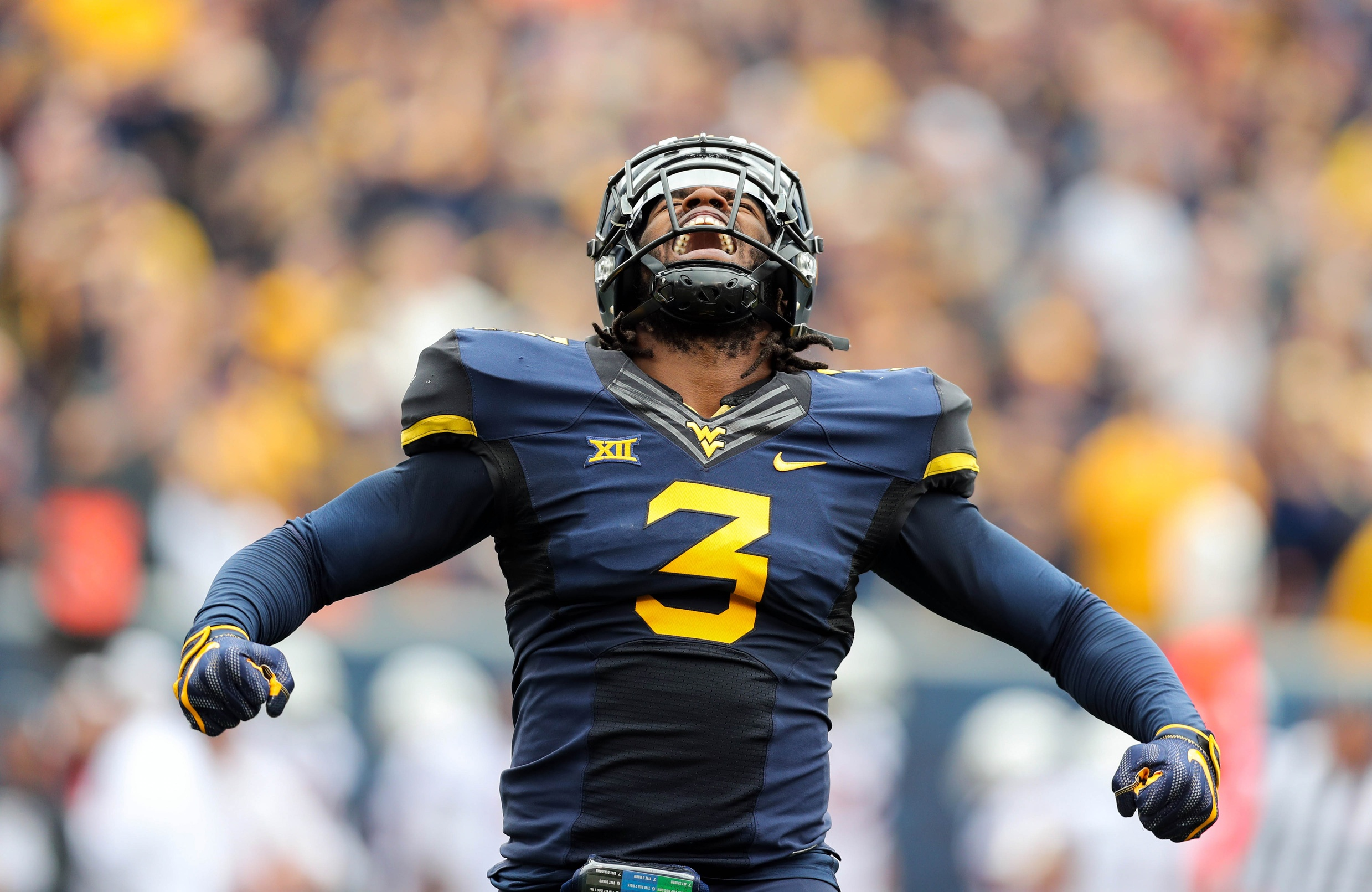 WVU falls to Texas on senior day 28-14