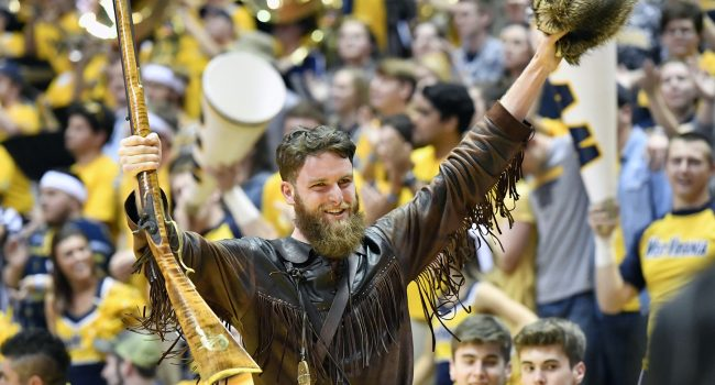 Troy Clemons, WVU Mountaineer mascot, sidelined indefinitely following DUI charge