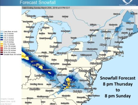 wv metronews nws weekend storm to bring snow to southeastern west