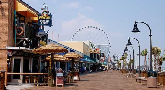 Myrtle Beach Spared The Worst Of Hurricane Florence