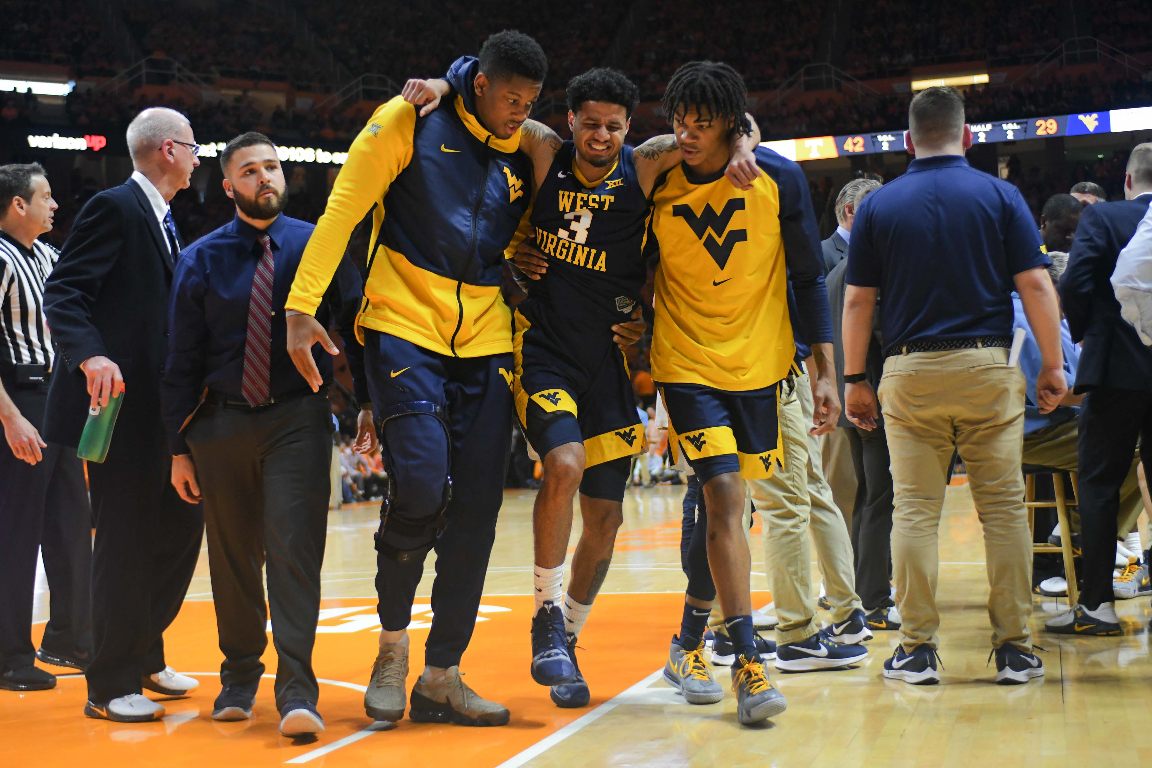 e9a4560d51c WV MetroNews Huggins: Beetle Bolden 'hasn't had a chance' because of  recurring injuries - WV MetroNews