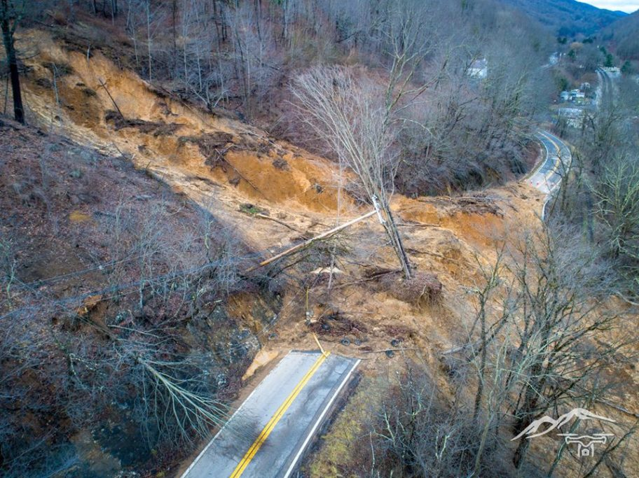 Major Mudslide In Mercer County Wv Metronews