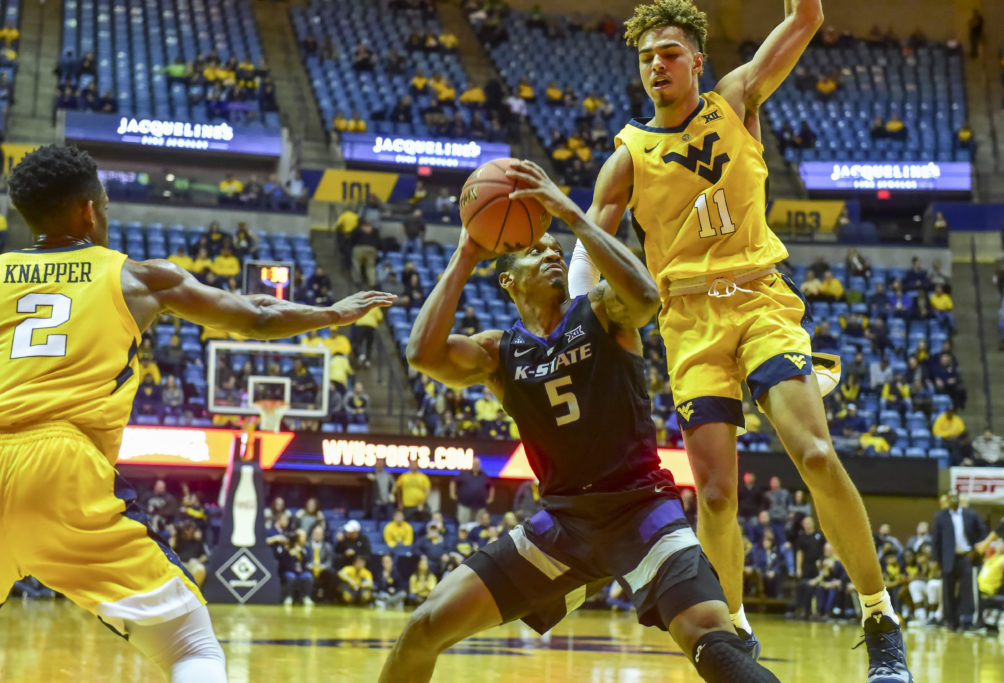 Brown leads No. 23 Kansas State past WVU