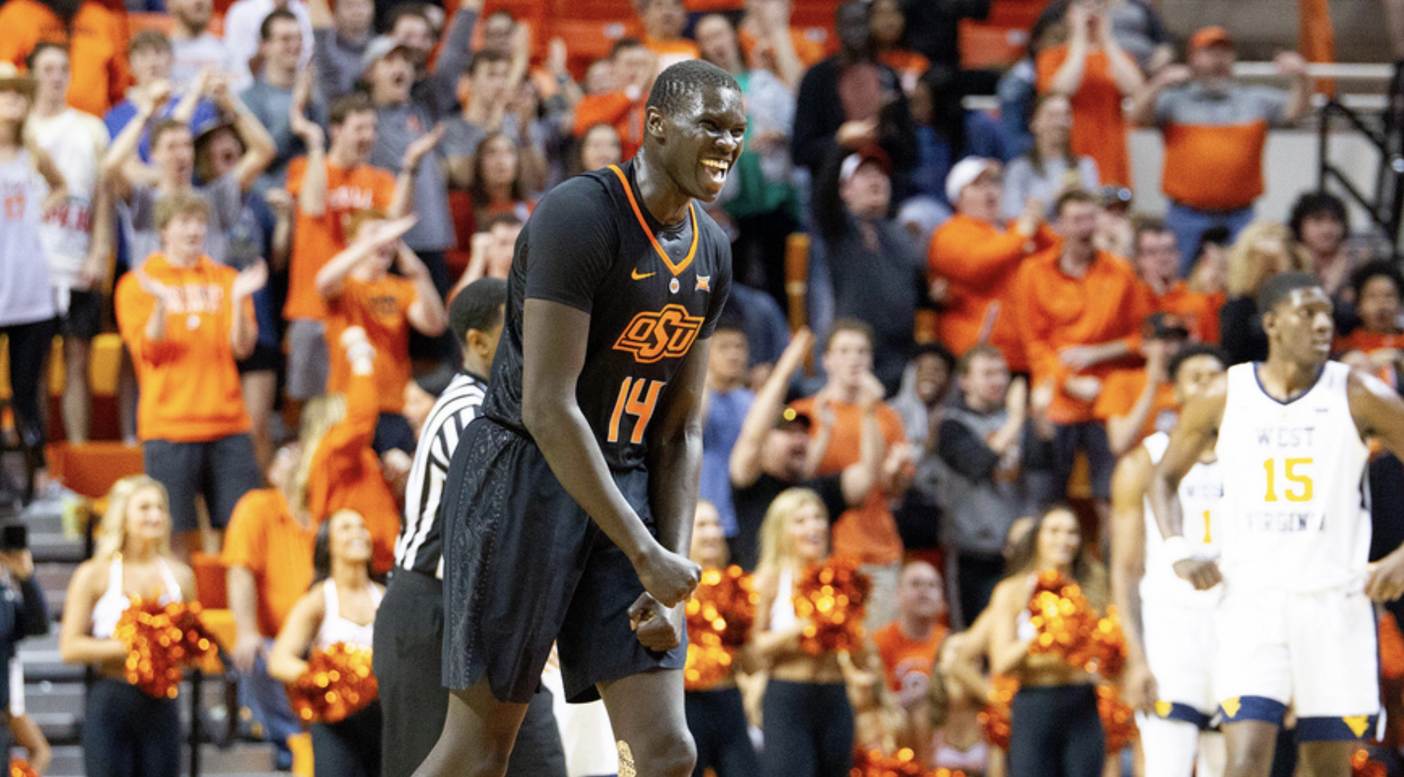 WV MetroNews Dueling big men highlight Oklahoma State's win over