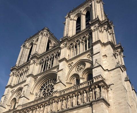 Wvmetronews Lewis County Natives Toured Notre Dame Cathedral