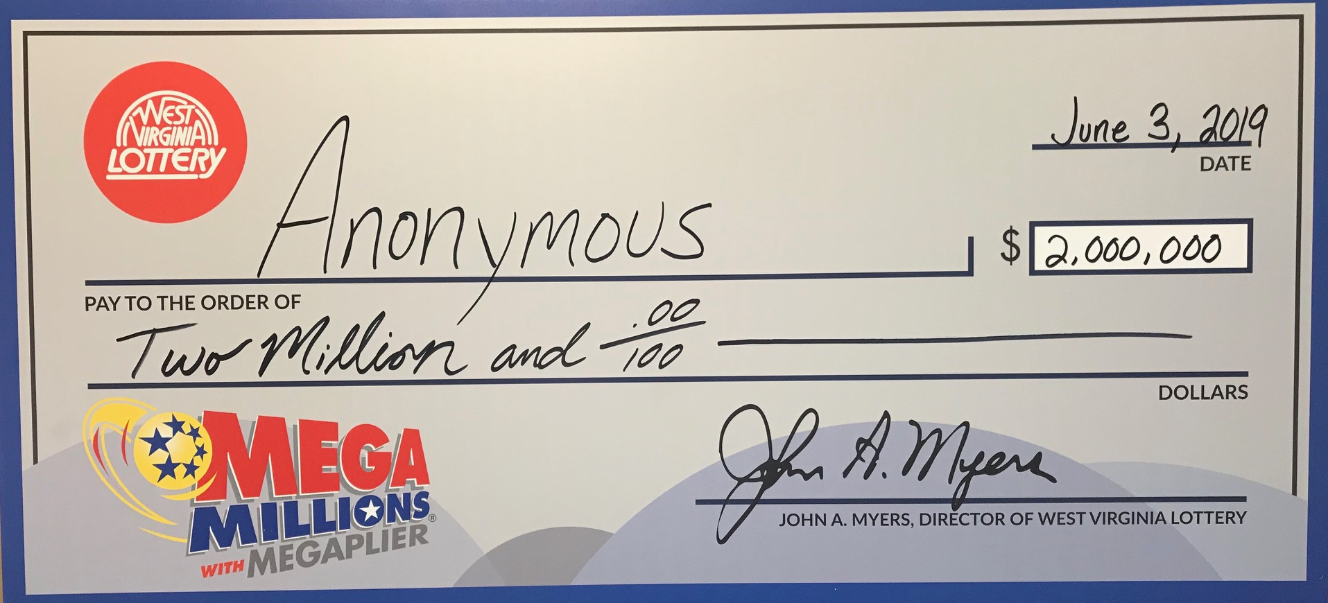 Lottery Purchaser Of 2 Million Mega Millions Ticket Chooses To Remain Anonymous Wv Metronews