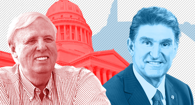 West Virginia Poll: If Manchin gets in, right now he would beat Justice - WV MetroNews