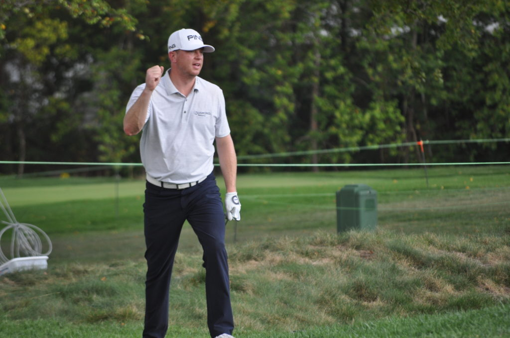 Chile's Niemann takes two-shot lead at The Greenbrier