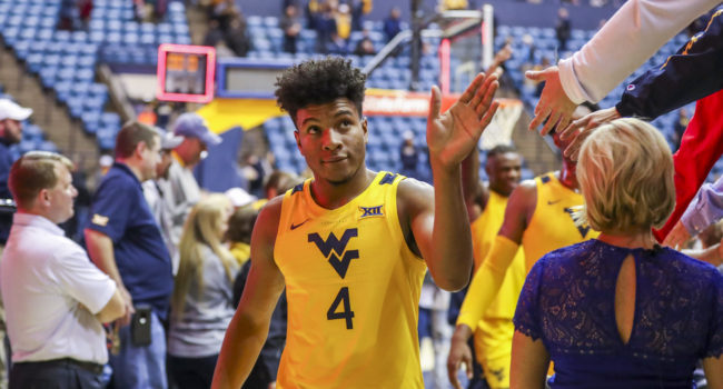 Harler helps spark West Virginia basketball in big win over Ohio State