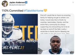 Jaylen Anderson Becomes Seventh Commitment To Wvu S Class Of 2021 Wv Metronews