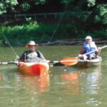 Anna Pry of Sylva, North Carolina sends along this picture of a recent float trip.  Sometimes--just being there is the trophy.  We couldn't agree more.