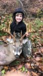 Levi Wiseman, age 7, of Colton, W.Va. shows off a nice first deer, a 14 point buck, killed in the 2020 archery season in Randolph County.