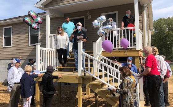 Rainelle home is one of the last West Virginia United Methodist Disaster Recovery will rebuild ...