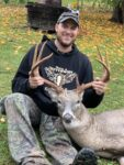 Tad Bailey of Madison, W.Va. killed this nice 8-point buck in October 2020, but didn't share where he got it.