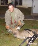 Jeff Frey of Philippi, W.Va. killed this nice 9 point  buck in early October in Barbour County, W.Va.