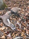 Mike Bohan of Charleston shares a pic of the 8 point buck he killed in Kanawha County.