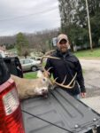 Patrick Currey of Idemay, W.Va. killed the biggest buck of his life on the second day of the 2020 rifle season hunting with his buddy Donnie in Taylor County, W.Va.