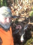 Rusty Lane of Marlinton, W.Va. sends us a picture every year, but this year's 7 point buck from the Monongahela National Forest was special...killed with the Model 94 30-30 Winchester of his late father and hunting buddy.