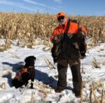 Vic Sands of Cabin Creek, W.Va. shares this pic from an October 2020 pheasant hunting trip to South Dakota