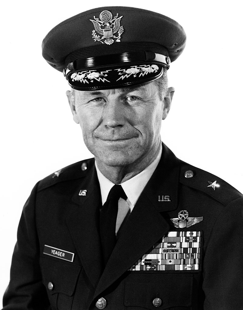 Chuck Yeager, pilot who broke the sound barrier, dies at 97