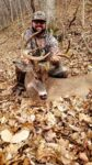 Aaron Fry of Logan, W.Va. missed the buck he had been hunting all season and was feeling pretty dejected when this one showed up at his stand on November 27, 2020 in Logan County, W.Va.