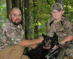 Austin Snyder, age 11,  of Beckley, W.Va. killed his first black bear with a crossbow while hunting with his dad in September 2020