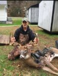 Doug Harvey of Cyclone, W.Va. killed this 14 point brute bowhunting November 21st in Wyoming County, W.Va.