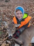 Jackson Shifler, age 9, of Martinsburg, W.Va. killed this buck in neighboring Maryland on that state's youth day.