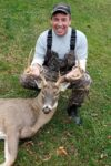 John Cottrell with an 8 point buck killed in Clay County, W.Va. during the 2020 hunting season.