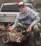 Kaden Moore, age 13, of Valley Bend, W.Va. killed this buck while hunting with a crossbow in Pocahontas County, W.Va.