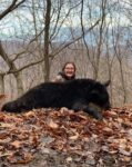 Kelsey Marple, age 15 a student at Harman High School killed her first bear in 2020.